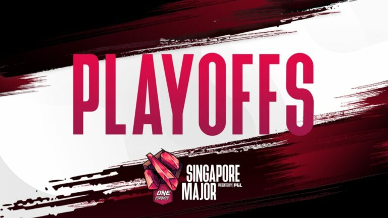 Hasil Hari Ketiga Babak Playoffs Singapore Major