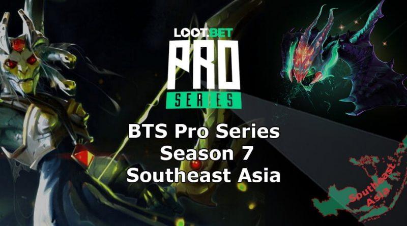 BTS Pro Series Season 7 SEA