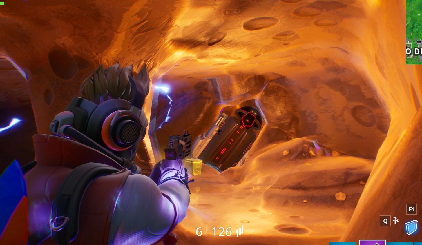 Dónde encontrar la cápsula de aterrizaje en un meteorito en Fortnite