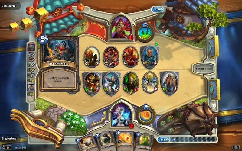 Hearthstone gameplay