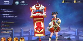 Mobile Legends Skin Lolita Lion Dance