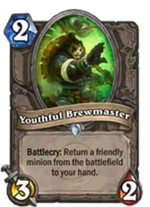 Youthful Brewmaster | Hearthstone | Rastakhan's Rumble