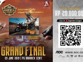 Regional Final Stages AOC PUBG | Pan-Asian Internet Café eSports Tournament