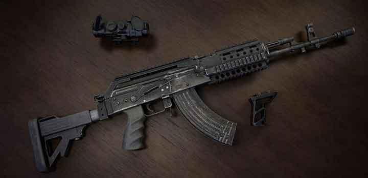 assault rifle pubg