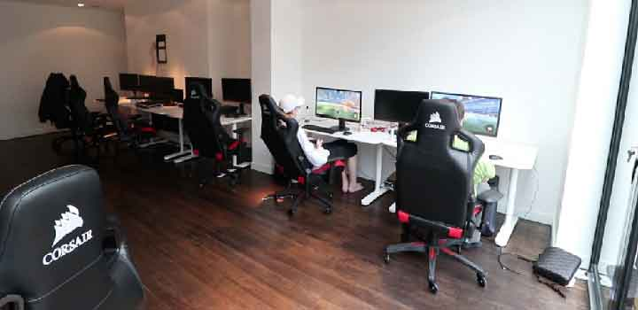 Esports gaming house via South West Londoner