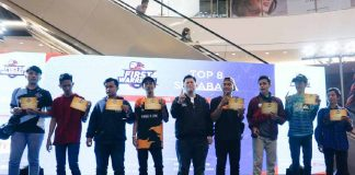 Arek-arek Suroboyo Bertanding Sengit di Audisi Esports First Warriors