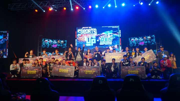 Champion MLBB Axis Esports Tournament di Malaysia