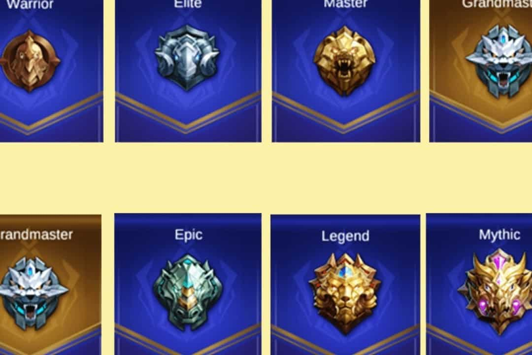 Rank Mobile Legends