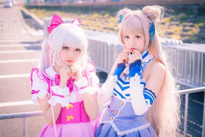 copyright cosplay anime Jepang