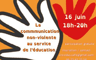 CNV Educ'Café le 16 juin : la CNV au service de l'éducation