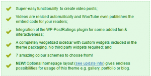 WooTube Features