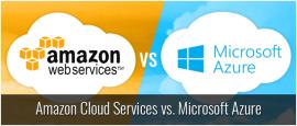Amazon Cloud Services Vs. Microsoft Azure
