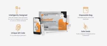 COVID-19 Rapid Antigen Self Test Kit CoviSelf
