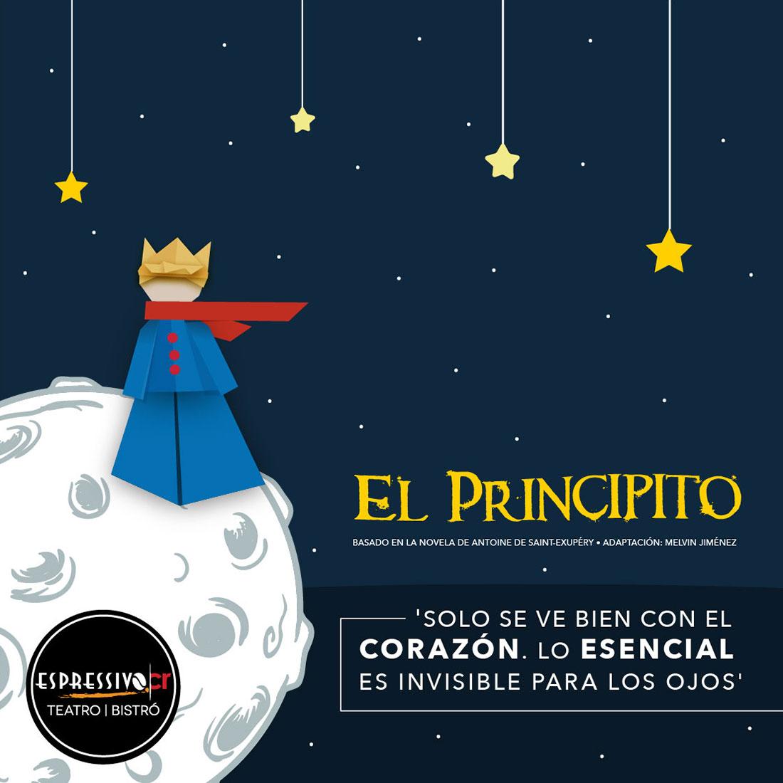 24feb7bb6d EL PRINCIPITO - Teatro y Bistró en Costa Rica