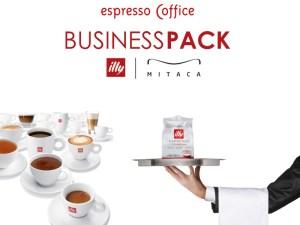 Business Pack (CY) Μηχανή MITACA M8 + 2 KOYTIA (180 κάψουλες illy MPS)