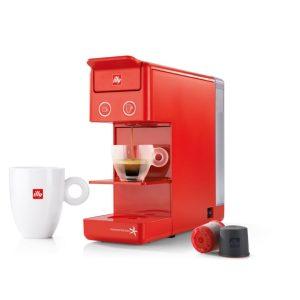 Μηχανή espresso ILLY IPERESPRESSO Y3.2 Κόκκινη + ΔΩΡΟ 56 Κάψουλες IPERESPRESSO + 6 ποτηράκια Maroccino