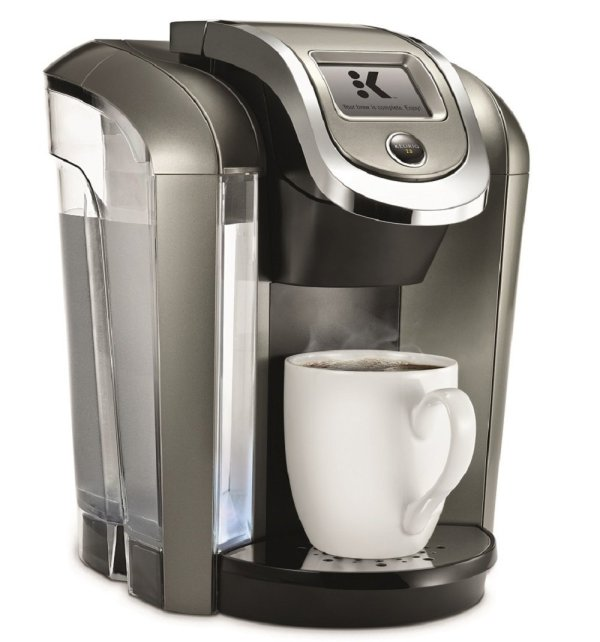 Keurig K575 Single Serve Programmable -cup Coffee Maker With 12 Oz Brew Size And Hot Water