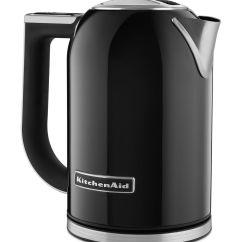 Kitchen Aid Electric Kettle Rustic Chandelier Kitchenaid Variable Temperature Onyx Black Kek1722ob Espresso Planet Canada