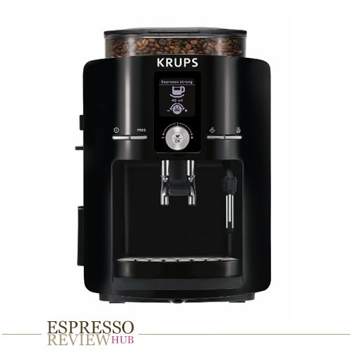 KRUPS 8000033681 EA8250 Espresso Machine Large Piano Black