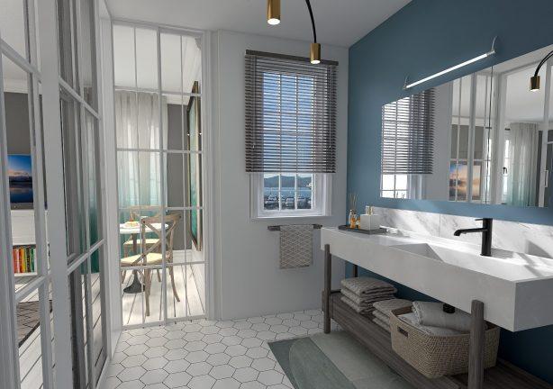 rénovation et création salle de bain chambre d'hôtes