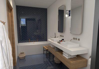 rénovation salle de bain chambre parentale