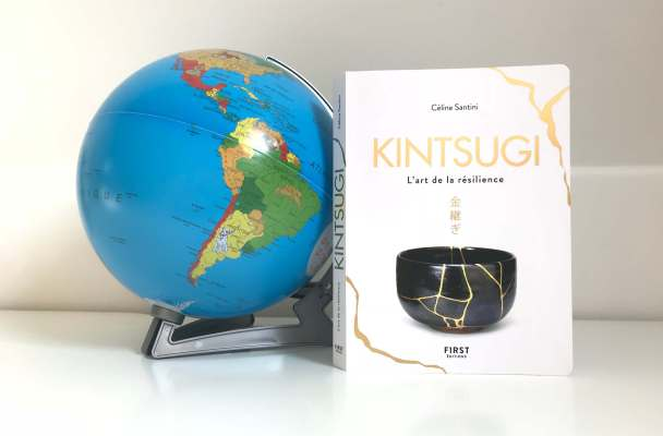 "The book ""Kintsugi, the art of resilience"" is an international succes"