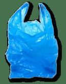 Les sacs en plastique.