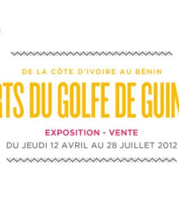 Affiche de l'exposition Art du golfe de Guinée
