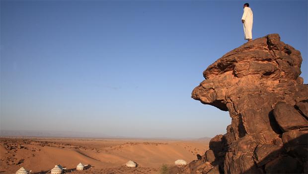Vue du Camp du désert