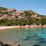 Crique en Italie, Palau, plage Punta Cardinalino