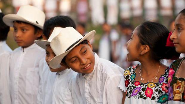 Enfants mexicains
