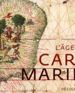 """Invitation à la conférence """"l'age d'or des cartes marines"""" cité des voyageurs 55 rue sainte Anne Paris"""