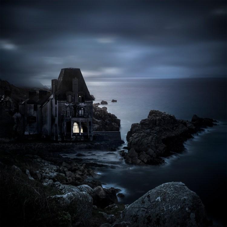 """Eternel retour photographie inspirée de l'île Tristan de Douarnenez et du film """"L'Éternel retour""""."""