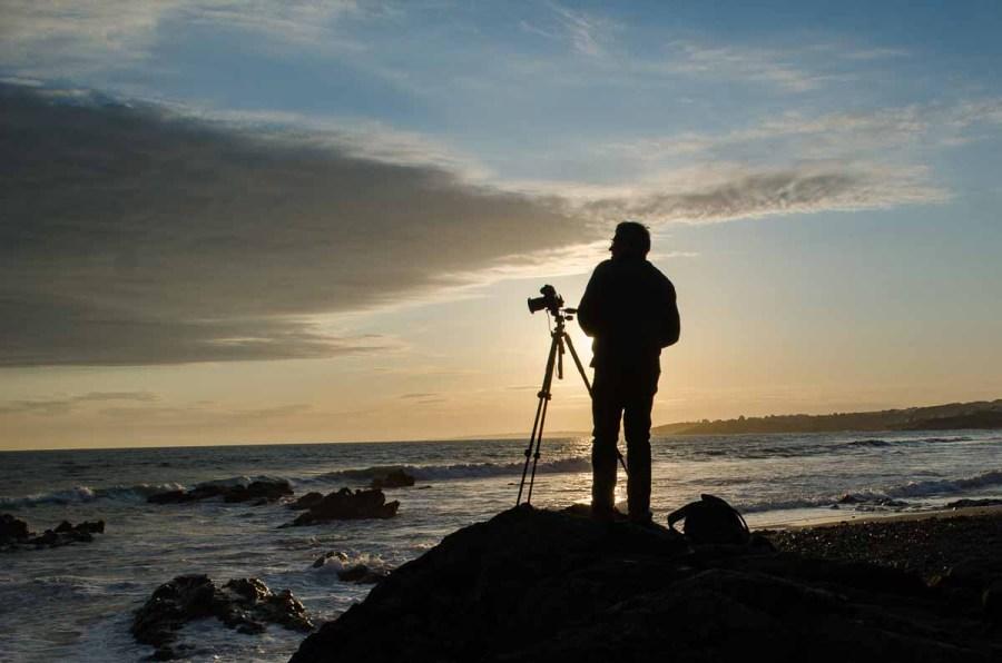 photographie Christine Jegaden Portrait du photographe Arnaud Carette