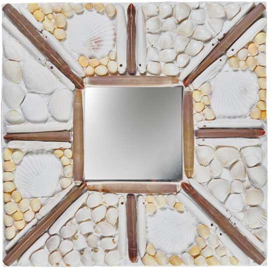 Miroir Coquillages à accrocher