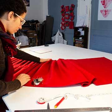 Newsletter Constance Fohlen dans son Atelier Coeur Cousu