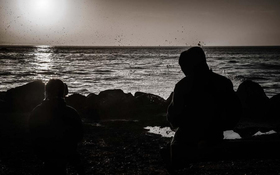 """Photographie ©Arnaud Carette """"Les Embruns"""" La Torche -Plomeur-Pays Bigouden"""
