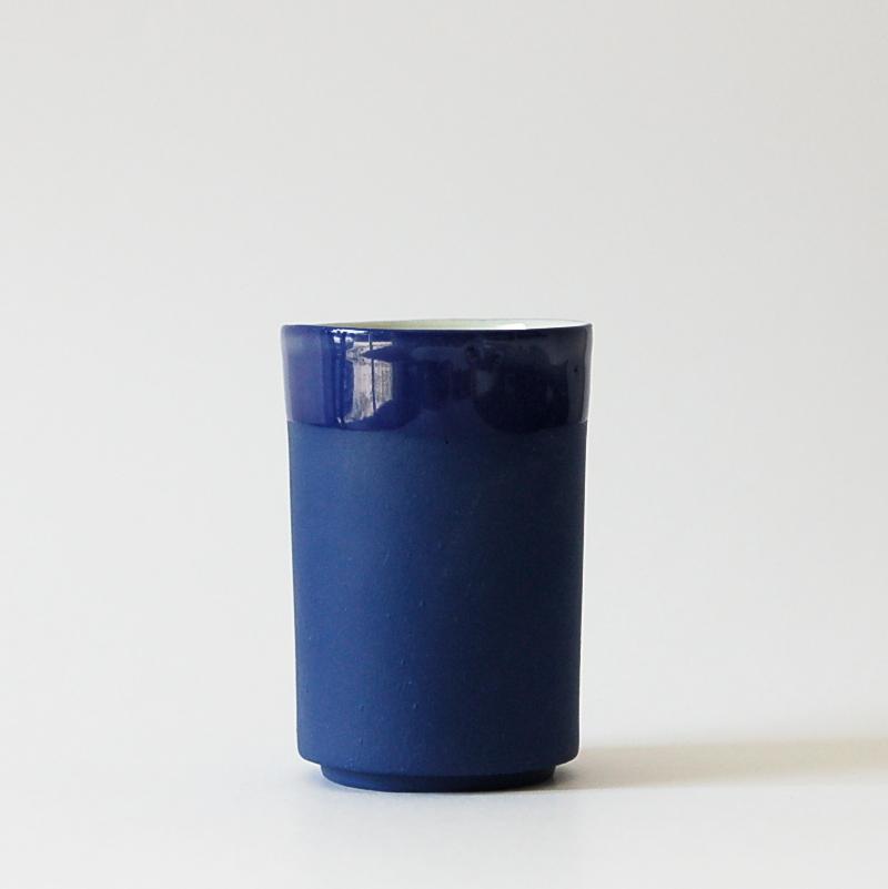 gobelet café country bleu biscuit