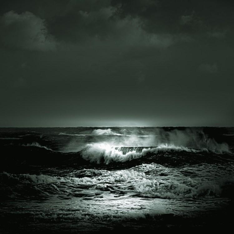 photographie Hocine Saad / Les vagues 3/format carré