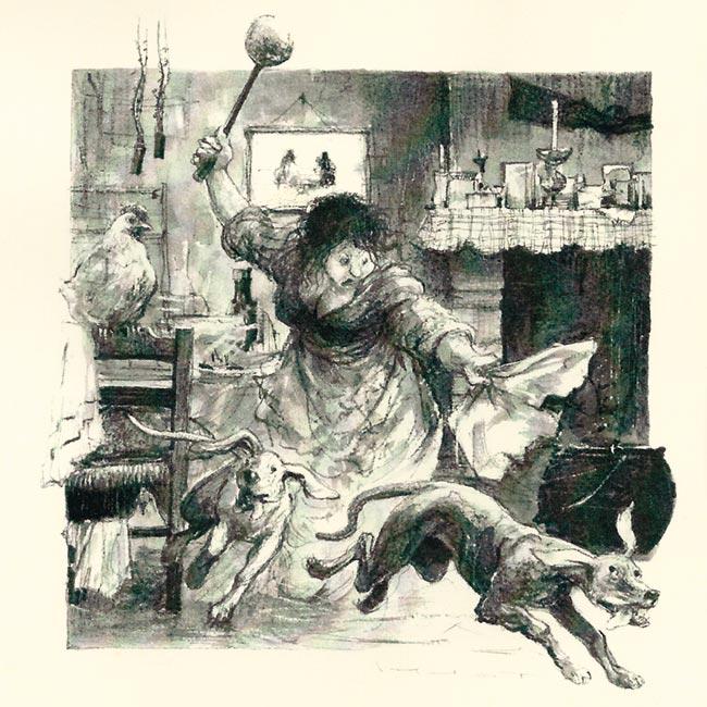 Illustration de Marcel Pajot