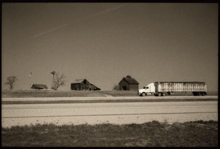 La mythique Route 66 dans l'Illinois