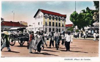 Saïgon : Place de Cuniac.