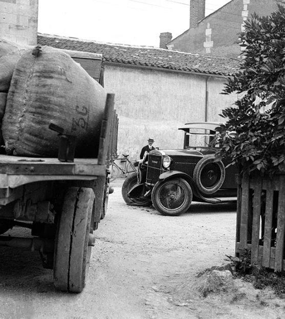 Un accident de la route, Collection Bondier-Lecat