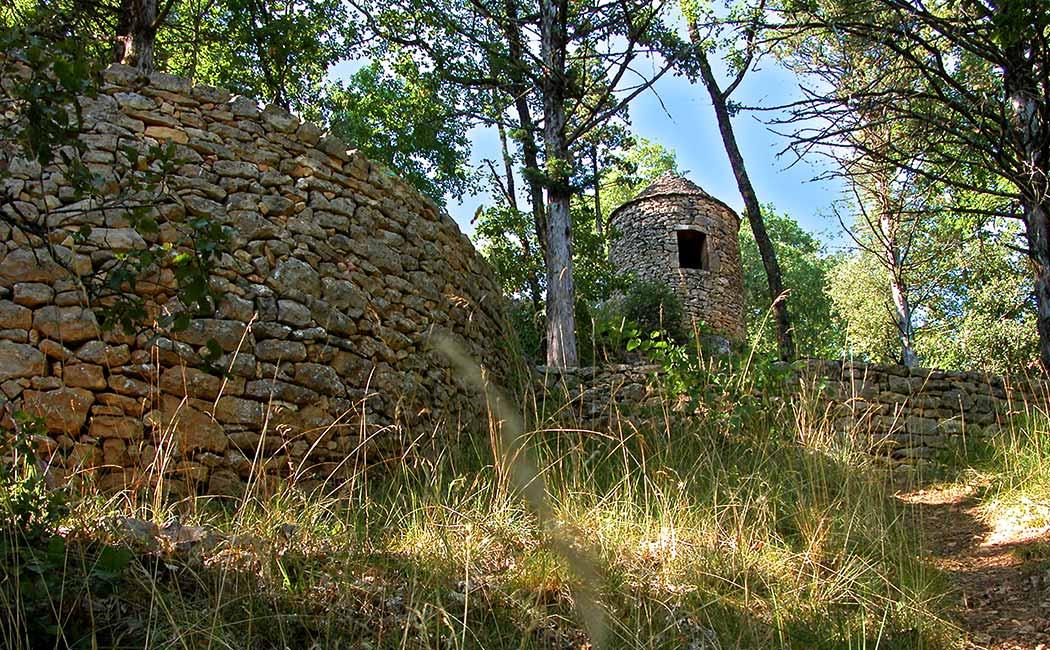 Les murets en pierre sèche