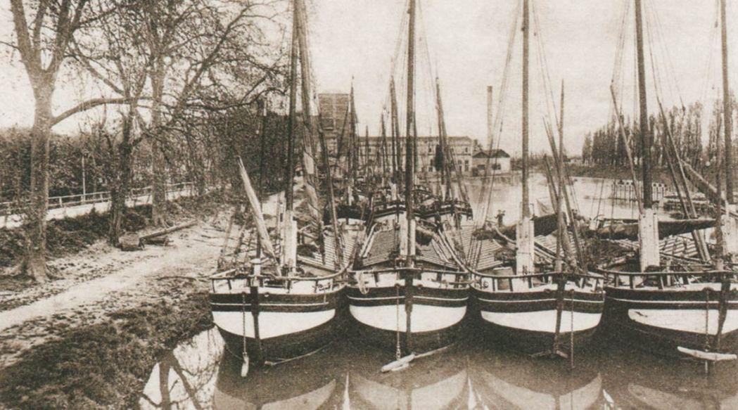 La navigation sur L'Isle
