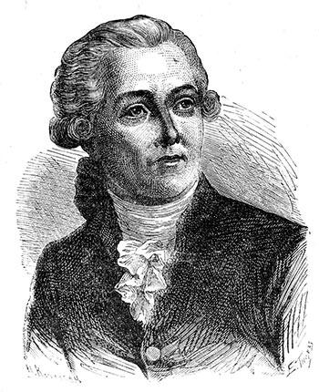 Antoine Lavoisier, souvent présenté comme le père de la chimie moderne