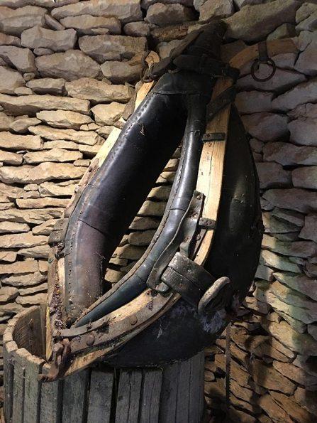 Joug de cheval, Cabane du Breuil, Dordogne