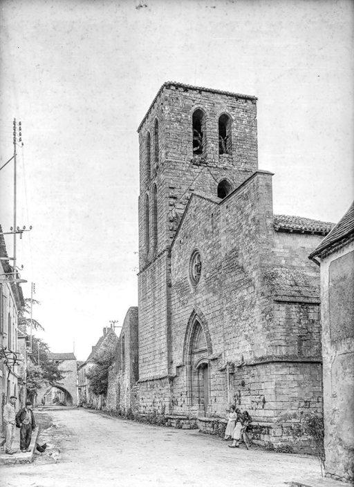 Église de la bastide de Molières, 1937 © Galerie Bondier-Lecat