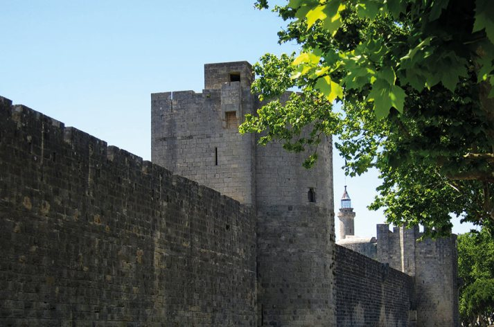 Les murs extérieurs à Aigues-Mortes