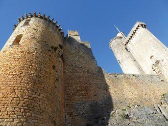 Les tours du Château de Bonaguil en Lot-et-Garonne